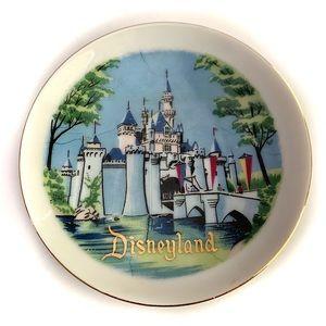 "Vintage Disneyland Castle 4"" plate"